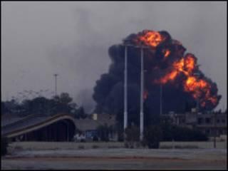 Birnin Benghazin kasar Libya