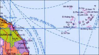 Quảng Nam nằm trên bờ Biển Đông