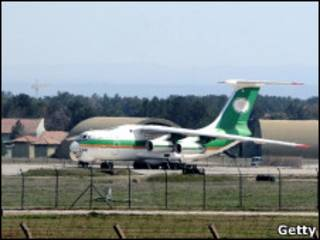 هواپیمای ایرانی در فرودگاه دیاربکر
