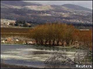 Vale do Bekaa, no Líbano