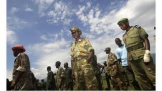 Des combattants des FDLR