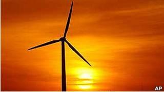 Parque eólico en China