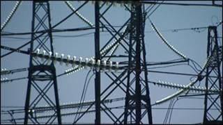 Линии электропередач, фотография Русской службы BBC