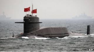 Китайская атомная подводная лодка