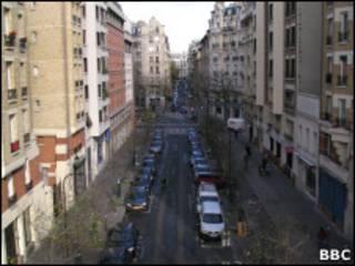 Rua de Paris.