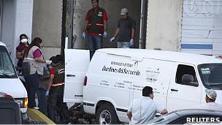 Morgue en Tamaulipas