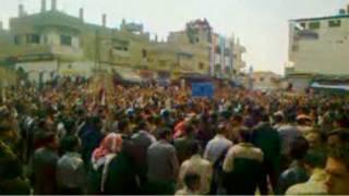 deraa protest, syria