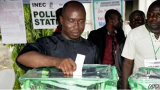 Голосование в Нигерии