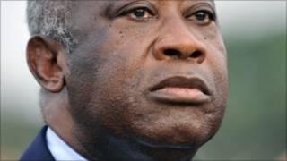 Aliyekuwa rais wa Ivory Coast Laurent Gbagbo