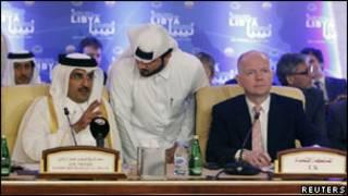 Inama y'i Qatar ku kibazo ca Libya