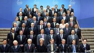 Министры финансов и главы центробанков стран Большой двадцатки