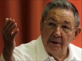 Shugaba Raúl Castro na Cuba
