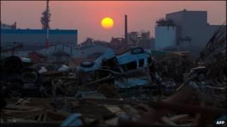 जापान में तबाही