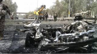 انفجار انتحاری در بغداد