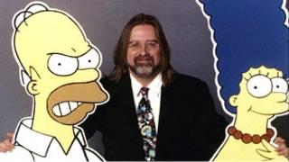 Matt Groening y los Simpsons