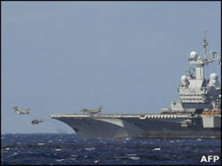 फ़्रांस का लड़ाकू जहाज़
