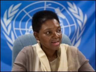 संयुक्त राष्ट्र सहायता एजेंसी प्रमुख वलेरी एमोस