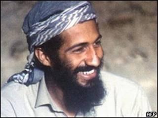 Osama Bin Laden na região de Jalalabad, Afeganistão, em 1988 (Arquivo/AFP)