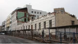 Почти снесенное здание архитектора Федора Кольбе