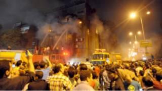 درگیری بین مسلمانان و مسیحی های قاهره
