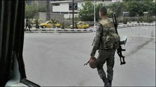 Lính Syria ở Damascus