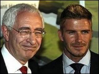 Triesman e Beckham