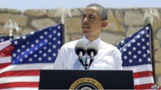 Барак Обама выступает в Эль-Пасо