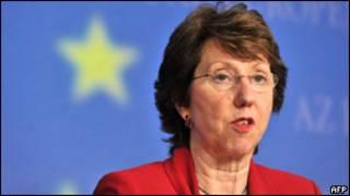 Trưởng đại đối ngoại của EU, bà Catherine Ashton