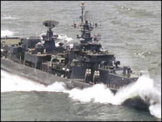 भारतीय युद्धपोत (फ़ाइल चित्र)