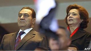 Хосни и Сюзанна Мубарак