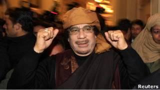 Муаммар Каддафи (фото 11 марта 2011 года)
