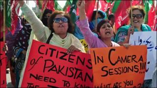 पाकिस्तान प्रर्दशन