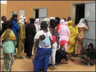 Masu zabe a birnin Agadez