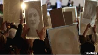 Акция памяти жертв военной диктатуры в Аргентине (14 апреля 2011 года)
