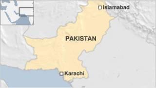 karachi, map, peta