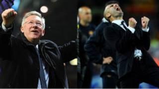 Alex Ferguson dan Pep Guardiola