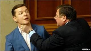 Депутати Мартинюк і Ляшко