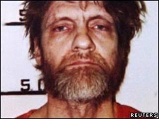 Ted Kaczynski, em foto de 1996 (Reuters)