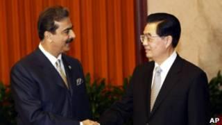 نخست وزیر پاکستان در دیدار با رئیس جمهور چین در پکن