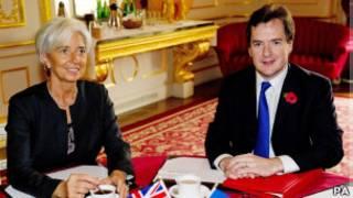 George Osborne ashigikiye Christine Lagarde