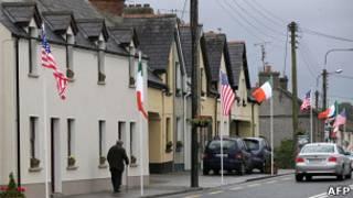 Деревня Манигалл в Ирландии