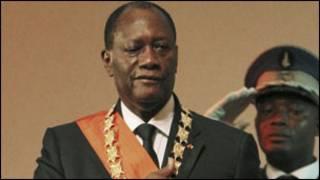 Shugaban Ivory Coast, Alassane Ouattara