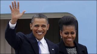 Vợ chồng Obama