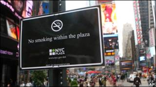 Нью-Йорк стає менш гостинним для курців