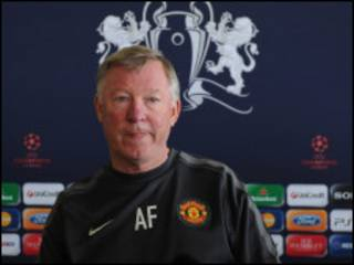 ManU manager sir Alex Ferguson
