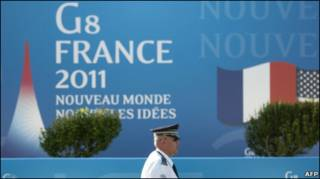Áp phích hội nghị G8