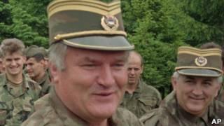 Ратко Младич во время войны в Боснии