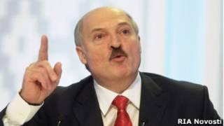 Александр Лукашенко на пресс-конференции вскоре после скандальных выборов