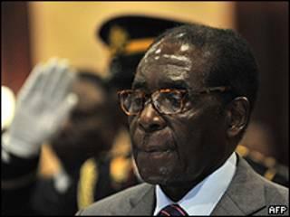 Robert Mugabe (AFP)