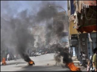 Ana gwabza kazamin fada a Yemen